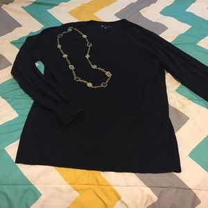 Back V-Neck Sweater from Gap